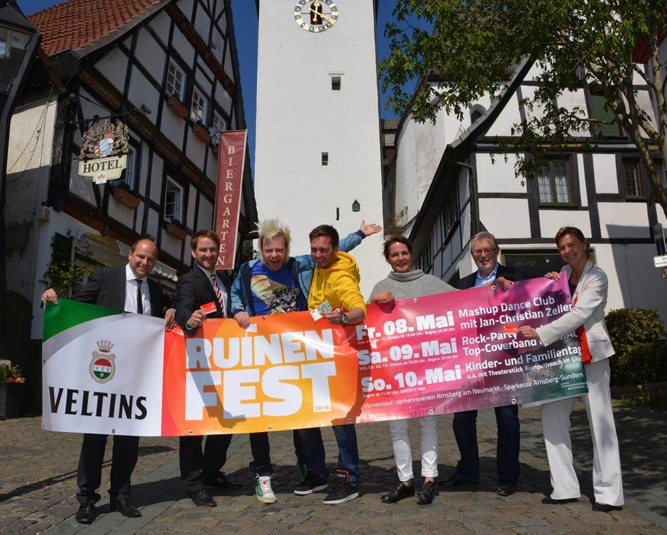 Ruinenfest 2015 – Sparkassenkunden profitieren besonders!