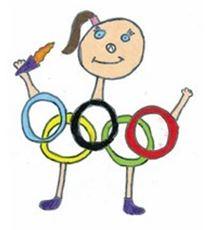 Maskotchen Grundschul Olympiade 2016