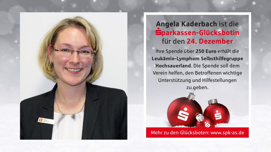 Sparkassen-Glücksboten: Adventskalender 2018