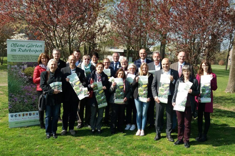 Offene Gärten im Ruhrbogen 2019