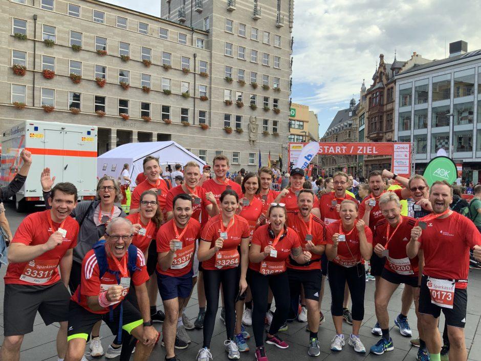 Sparkassen-Marathon in Halle
