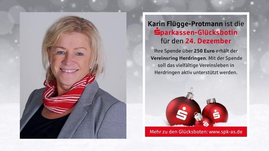 Sparkassen-Glücksboten: Adventskalender 2019