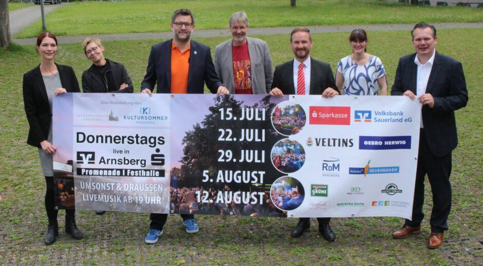 """""""Donnerstag live"""" in Arnsberg startet wieder"""